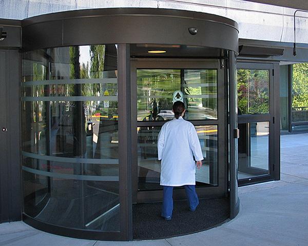Automatic Revolving Doors
