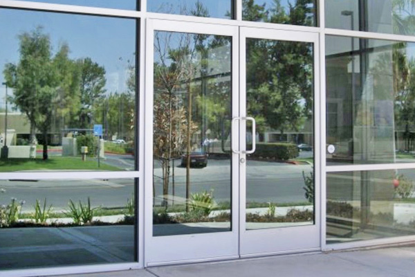 Aluminum Manual Doors