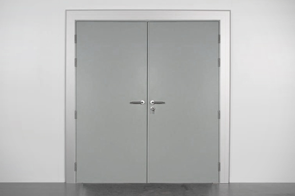Metal Double Manual Doors