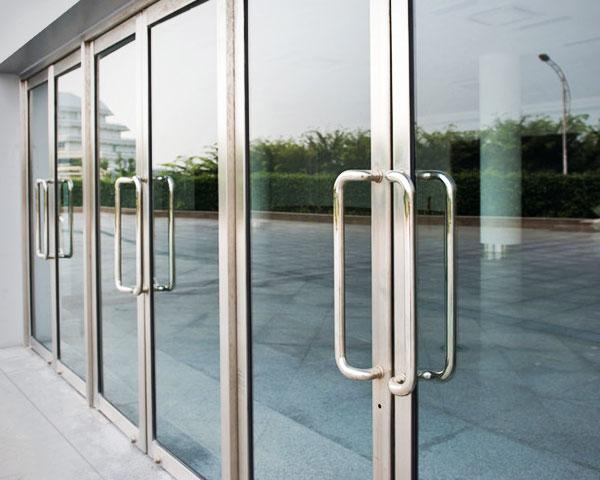 Commercial Manual Doors